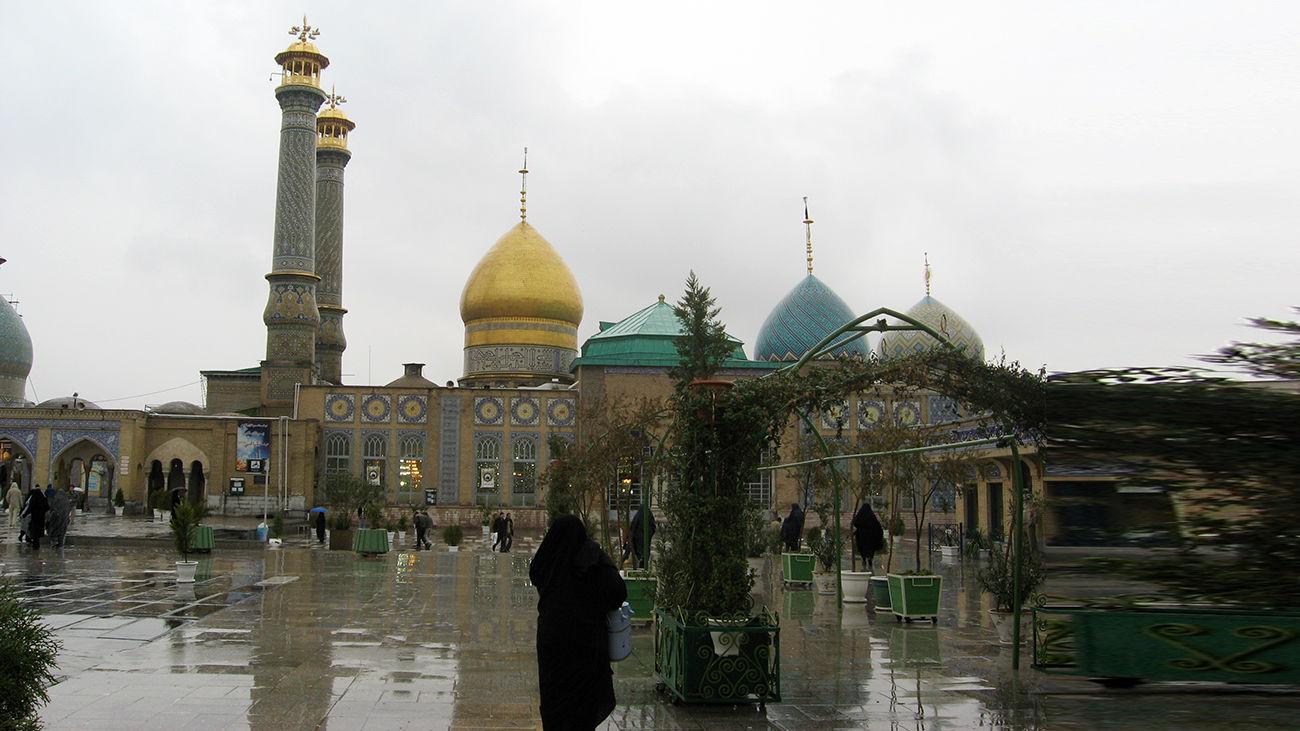 """""""در های حرم حضرت عبدالعظیم (ع) از امروز باز شد"""""""