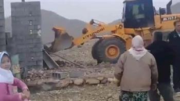پشت پرده تخریب خانه زن معلول در جنگل فسا