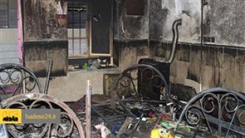 زنده زنده سوختن کودک یک ساله در درگیری آتشین طلبکار و بدهکار