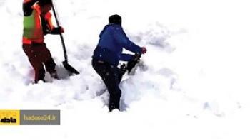 سرما جان شکارچی جوان در کوه های دمیرچی را گرفت