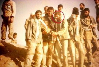 شهید محسن فخریزاده در دوران دفاعمقدس (عکس)