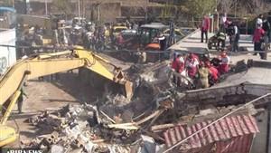 تصادف مرگبار کامیون با خانه ای در پردیس