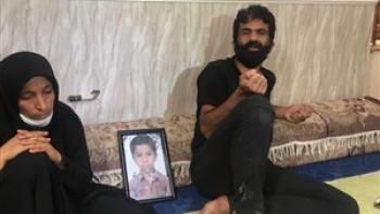 کشف جسد برادر سید محمد موسویزاده در سواحل بندر دیر / خانواده بوشهری باز هم عزادار شدند