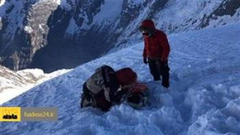 نجات جان کوهنوردان گرفتار شده در ارتفاعات شاهکوه گرگان