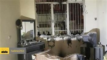 نجات خانواده سنندجی از آوار انفجار منزل مسکونی