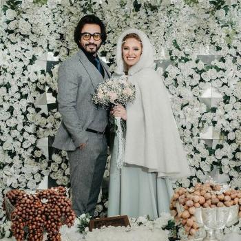 نگین معتضدی ازدواج کرد + عکس