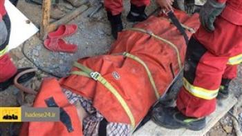 زنده به گور شدن دو کارگر در معادن سنگان خواف
