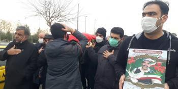 یکی از جانبازان حادثه ترور منافقین به همرزمان شهیدش پیوست