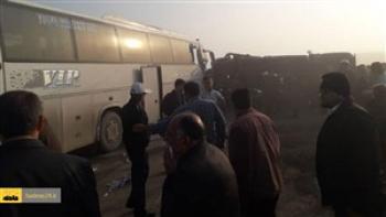 ۱۶ مصدوم در تصادف دو اتوبوس در بلوار امامت مشهد