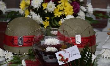 آغاز زندگی مشترک در جوار مزار سردار سلیمانی+ تصاویر