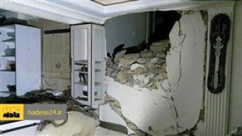 انفجار شدید منزل مسکونی در بلوار ابوذر