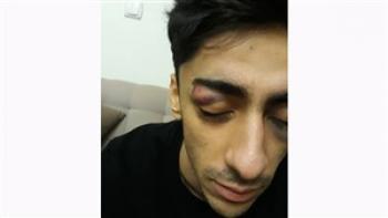 کتک زدن ایمان خاموشی در سالن ژیمناستیک برادران شهید آذرپی