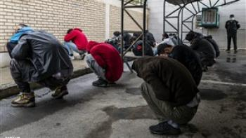 پاتک پلیس به ۵۱۳ سارق در شرق تهران