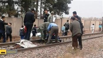 مرگ چوپان در تصادف با قطار