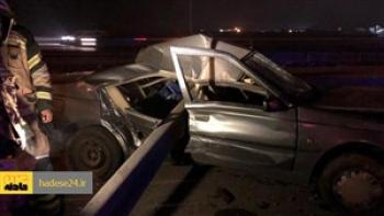 مرگ هم زمان اعضای یک خانواده در تصادف رانندگی