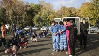 ۱۳۰ سارق، مالخر و فروشنده مواد مخدر در طرح امنیت محله محور زمینگیر شدند