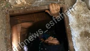 زنده مانده زن ۵۵ ساله پس از سقوط در منبع گازوئیل