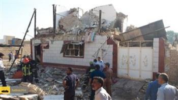 انفجار گاز در بجنورد ۳ نفر را راهی بیمارستان کرد