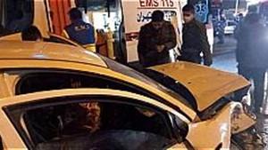 تصادف خونین چهار خودرو در جاده ورامین