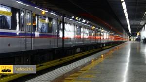 حادثه در قطار شهری تبریز راننده را راهی بیمارستان کرد