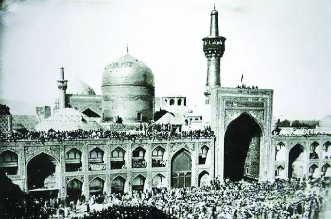 یادگاریهای دیده نشده شیخ بهایی در حرم رضوی