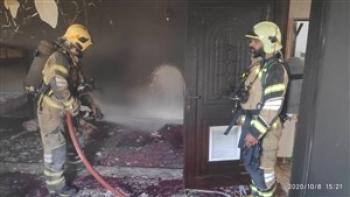 چاپخانه خیابان انقلاب در آتش سوخت