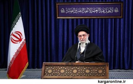 امام خامنهای: آمریکا نفع خود را در بیثباتی منطقه میداند/ لغو تعهدات برجامی درست و عقلایی بود/ ورود واکسن آمریکایی و انگلیسی به کشور ممنوع است