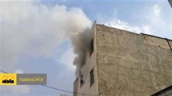 آتش سوزی مرگبار در ساری