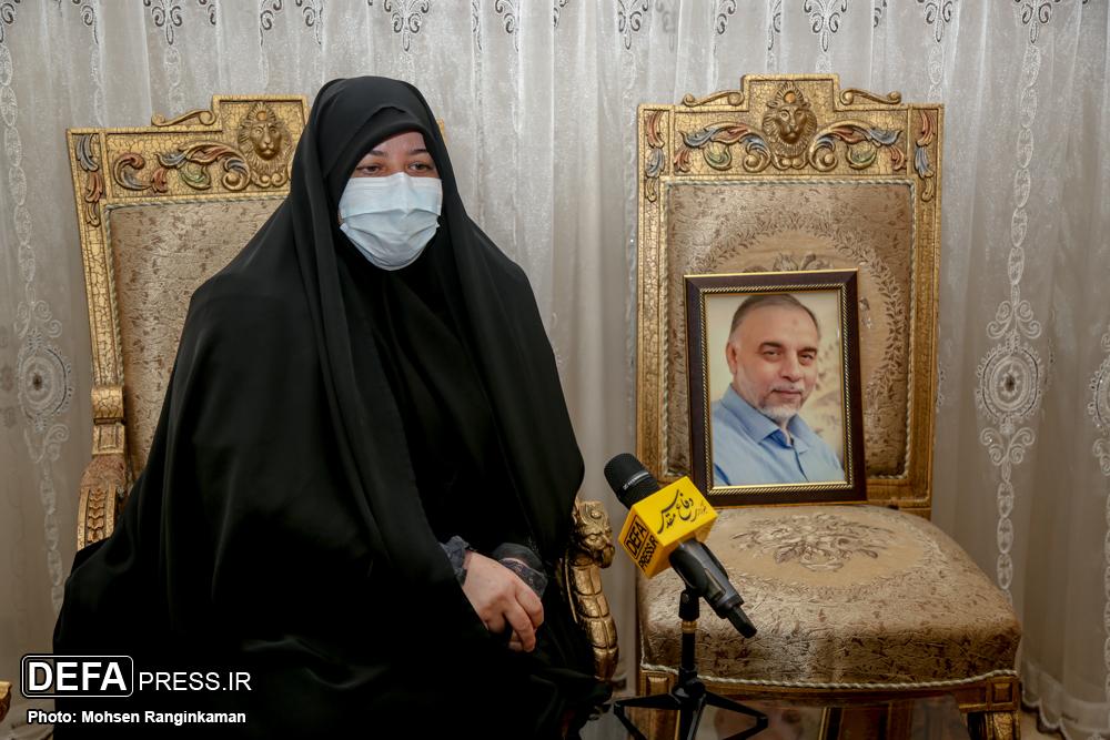 شهیدی که نیمی از ثواب مجاهدتهای خود را به همسرش هدیه داد