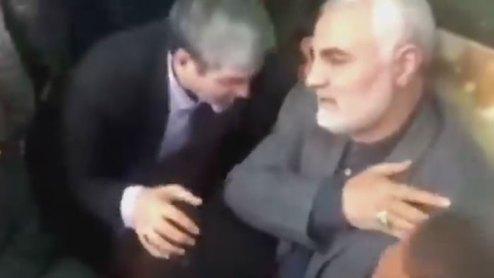 فیلمی کمتر دیده شده از شهید سردار سلیمانی