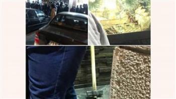 پلیس به دنبال سارقان طلافروشی پرند + عکس