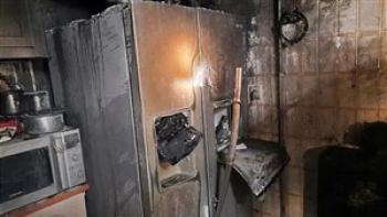 سوختگی شدید دو مرد در انفجار منزل مسکونی