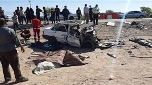 تصادف شدید در محور بستان آباد - سراب