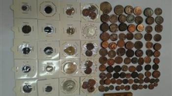 کشف ۱۱۴ عدد سکه قدیمی در کرمانشاه