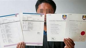 کلاهبرداری با جعل مدارک دانشگاه خارجی