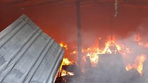 ۵ معلم و دانش آموز در آتش سوزی کلاس درس کانکسی سوختند