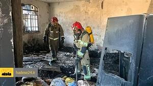 مردی همسرش را زنده زنده در آتش سوزاند
