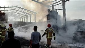 جزئیات آتش سوزی یک سوله در بزرگراه آزادگان