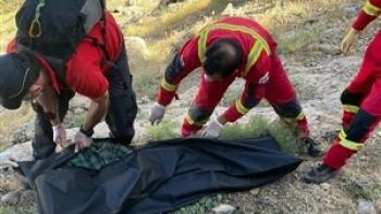 کشف جسد زن ۶۹ ساله از ارتفاعات کرمان بعد از ۸ ماه