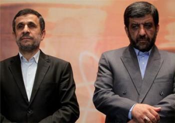 دیدار  ضرغامی  و  احمدی نژاد