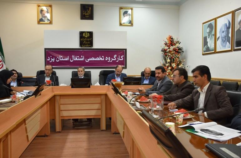 نشست هم اندیشی کارگروه تخصصی اشتغال استان یزد با حضور استاندار