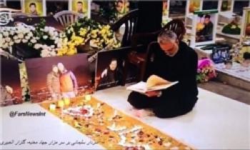 حضور سردار سلیمانی در منزل فرمانده شهید «مصطفی بدرالدین»