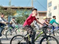 همایش دوچرخه سواری به مناسبت گرامیداشت ایام الله مبارک دهه فجر