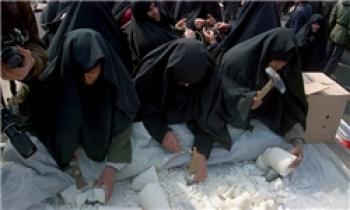 نقش زنان ایرانی در نبرد مدافعین حرم