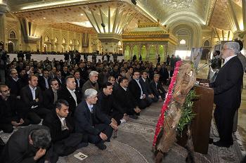 تجدید میثاق مدیران و کارکنان سازمان تأمین اجتماعی با آرمانهای امام خمینی(ره)
