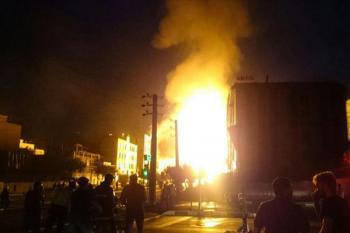 انفجار در پادگان شهید پازوکی جلیل آباد پیشوا