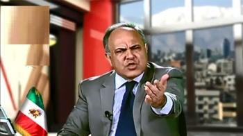 اهانت بیشرمانه مدیر شبکه ماهوارهای به مهران غفوریان +فیلم