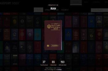 بازگشت عزت به پاسپورت ایرانی با هم رده ای ایران با کشوری که در حال تصرف داعش است!+جدول
