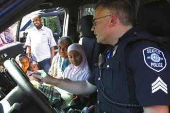 برگزاری جشن کباب در یکی از مساجد آمریکا!
