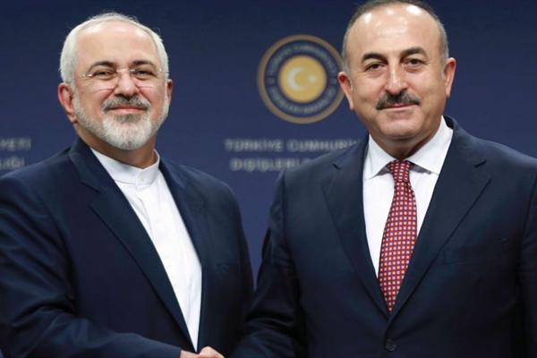 دیدار غیر منتظره وزیر خارجه ترکیه از ایران